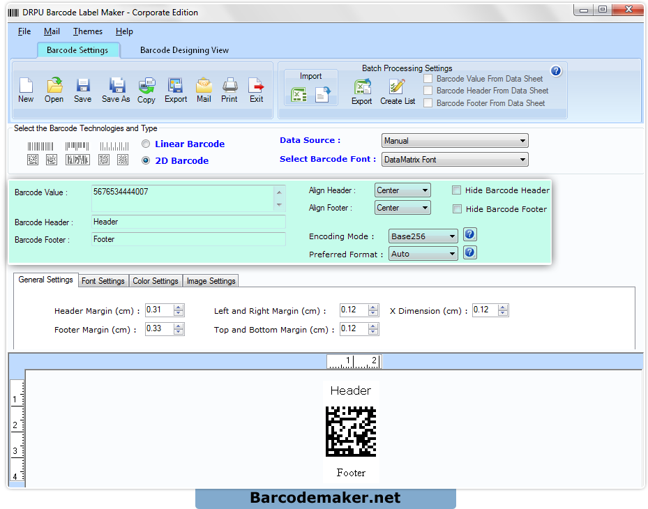 Barcode maker software corporate edition preview scaling features barcode maker corporate edition reheart Choice Image
